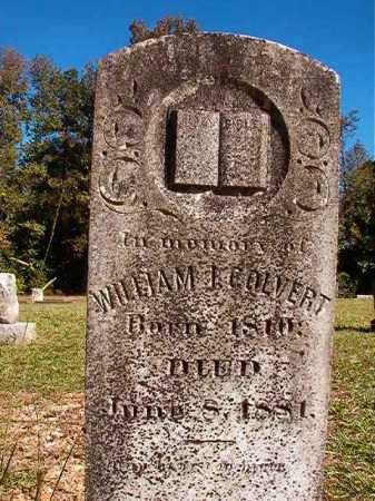 COLVERT, WILLIAM I - Dallas County, Arkansas | WILLIAM I COLVERT - Arkansas Gravestone Photos