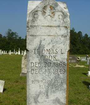 COOK, THOMAS L - Dallas County, Arkansas | THOMAS L COOK - Arkansas Gravestone Photos
