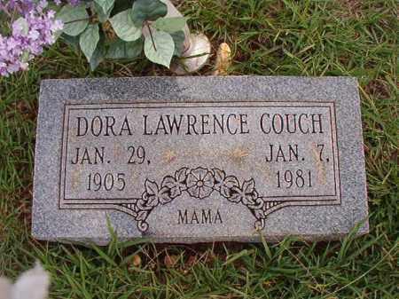 LAWRENCE COUCH, DORA - Dallas County, Arkansas | DORA LAWRENCE COUCH - Arkansas Gravestone Photos