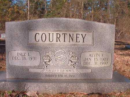 COURTNEY, ALVIN F - Dallas County, Arkansas | ALVIN F COURTNEY - Arkansas Gravestone Photos