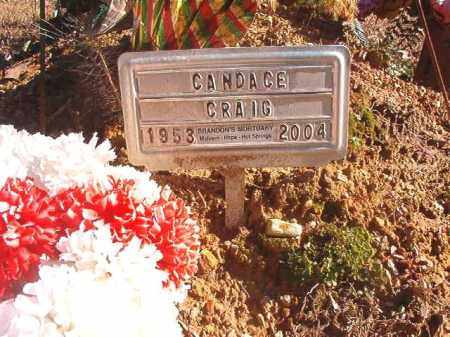 CRAIG, CANDACE - Dallas County, Arkansas | CANDACE CRAIG - Arkansas Gravestone Photos