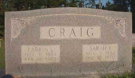 CRAIG, SARAH E - Dallas County, Arkansas | SARAH E CRAIG - Arkansas Gravestone Photos