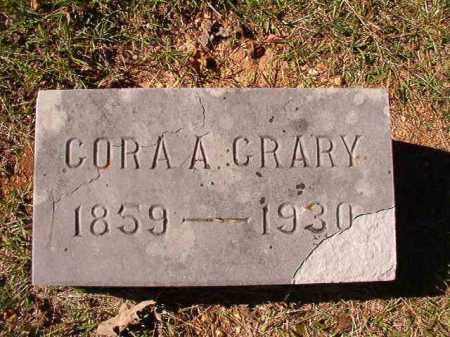 CRARY, CORA A - Dallas County, Arkansas | CORA A CRARY - Arkansas Gravestone Photos