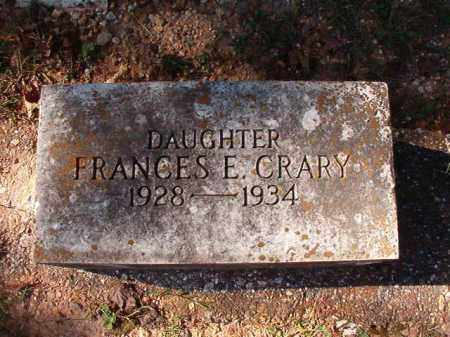 CRARY, FRANCES E - Dallas County, Arkansas | FRANCES E CRARY - Arkansas Gravestone Photos
