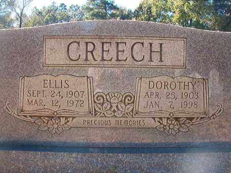 CREECH, ELLIS - Dallas County, Arkansas | ELLIS CREECH - Arkansas Gravestone Photos