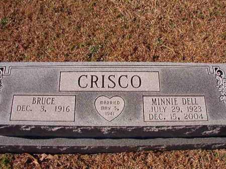 CRISCO, MINNIE DELL - Dallas County, Arkansas | MINNIE DELL CRISCO - Arkansas Gravestone Photos