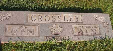 CROSSLEY, JIM W - Dallas County, Arkansas | JIM W CROSSLEY - Arkansas Gravestone Photos