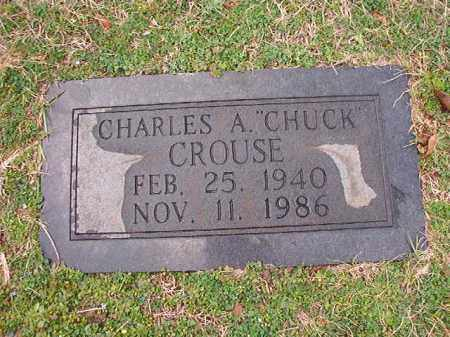 CROUSE, CHARLES A - Dallas County, Arkansas | CHARLES A CROUSE - Arkansas Gravestone Photos