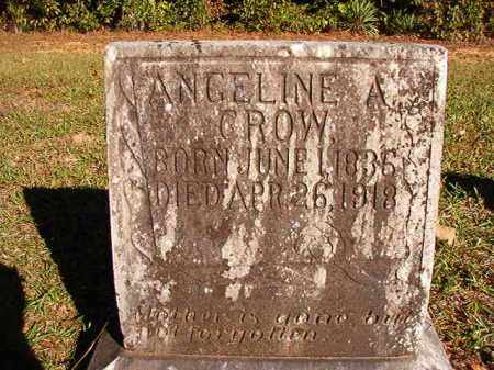 CROW, ANGELINE A - Dallas County, Arkansas | ANGELINE A CROW - Arkansas Gravestone Photos