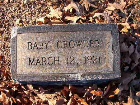 CROWDER, BABY - Dallas County, Arkansas | BABY CROWDER - Arkansas Gravestone Photos