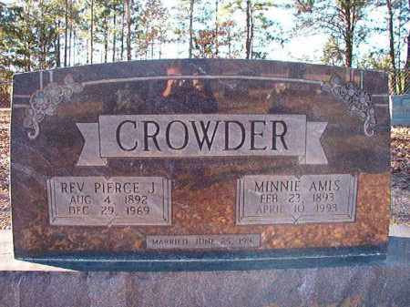 AMIS CROWDER, MINNIE - Dallas County, Arkansas | MINNIE AMIS CROWDER - Arkansas Gravestone Photos