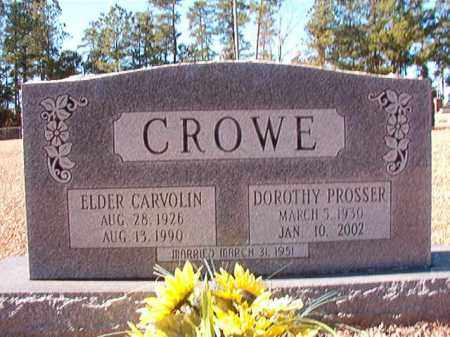 CROWE, DOROTHY - Dallas County, Arkansas | DOROTHY CROWE - Arkansas Gravestone Photos