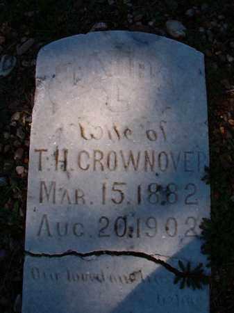 CROWNOVER, LAURA L - Dallas County, Arkansas | LAURA L CROWNOVER - Arkansas Gravestone Photos