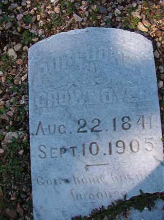 CROWNOVER, PURLOONEY - Dallas County, Arkansas | PURLOONEY CROWNOVER - Arkansas Gravestone Photos