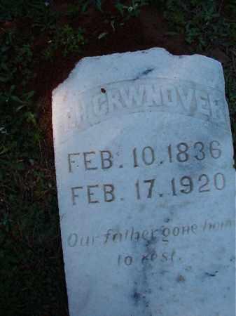 CROWNOVER, T H - Dallas County, Arkansas | T H CROWNOVER - Arkansas Gravestone Photos