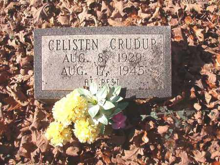 CRUDUP, CELISTEN - Dallas County, Arkansas | CELISTEN CRUDUP - Arkansas Gravestone Photos