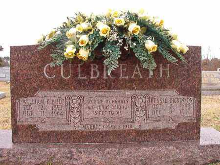 CULBREATH, BESSIE - Dallas County, Arkansas | BESSIE CULBREATH - Arkansas Gravestone Photos