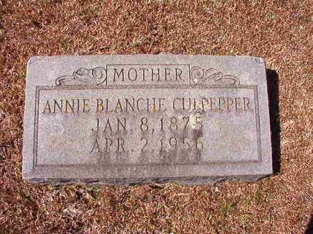 CULPEPPER, ANNIE BLANCHE - Dallas County, Arkansas | ANNIE BLANCHE CULPEPPER - Arkansas Gravestone Photos