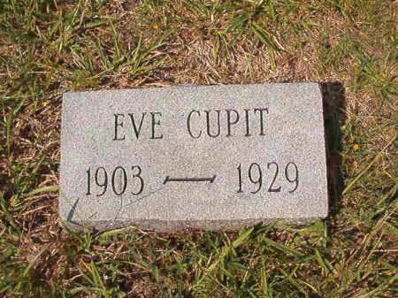 CUPIT, EVE - Dallas County, Arkansas | EVE CUPIT - Arkansas Gravestone Photos