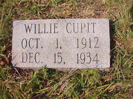 CUPIT, WILLIE - Dallas County, Arkansas | WILLIE CUPIT - Arkansas Gravestone Photos