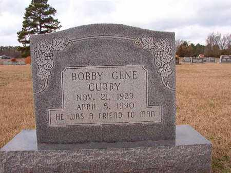 CURRY, BOBBY GENE - Dallas County, Arkansas | BOBBY GENE CURRY - Arkansas Gravestone Photos