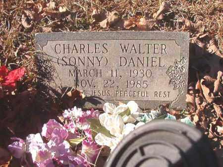 DANIEL, CHARLES WALTER (SONNY) - Dallas County, Arkansas | CHARLES WALTER (SONNY) DANIEL - Arkansas Gravestone Photos
