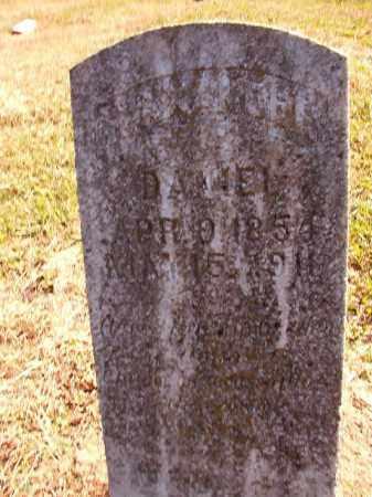 DANIEL, ALEXANDER - Dallas County, Arkansas | ALEXANDER DANIEL - Arkansas Gravestone Photos