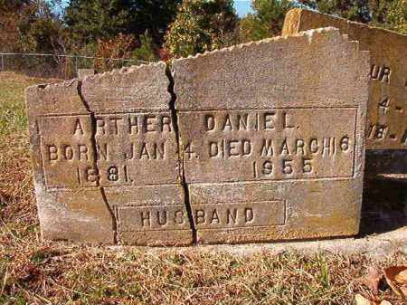 DANIEL, ARTHER - Dallas County, Arkansas | ARTHER DANIEL - Arkansas Gravestone Photos