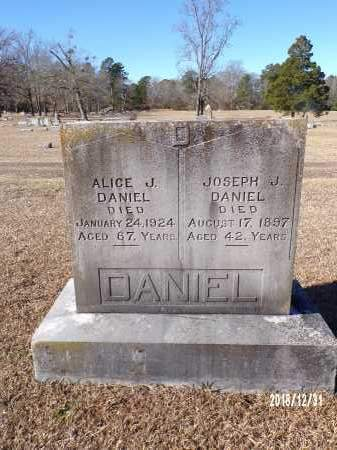 DANIEL, ALICE J - Dallas County, Arkansas | ALICE J DANIEL - Arkansas Gravestone Photos