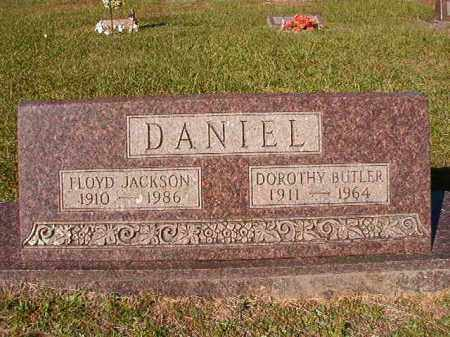 DANIEL, FLOYD JACKSON - Dallas County, Arkansas | FLOYD JACKSON DANIEL - Arkansas Gravestone Photos