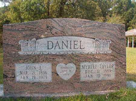 DANIEL, MYRTLE - Dallas County, Arkansas | MYRTLE DANIEL - Arkansas Gravestone Photos