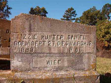 HUNTER DANIEL, LIZZIE - Dallas County, Arkansas | LIZZIE HUNTER DANIEL - Arkansas Gravestone Photos