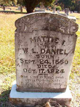 DANIEL, MATTIE I - Dallas County, Arkansas | MATTIE I DANIEL - Arkansas Gravestone Photos