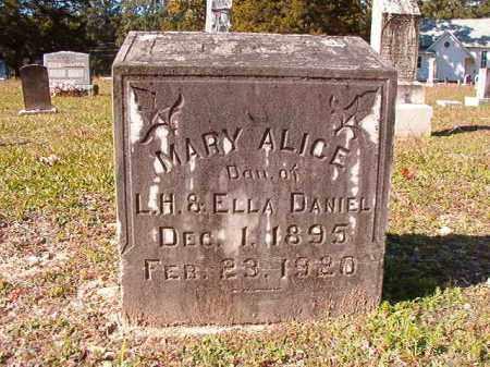 DANIEL, MARY ALICE - Dallas County, Arkansas | MARY ALICE DANIEL - Arkansas Gravestone Photos