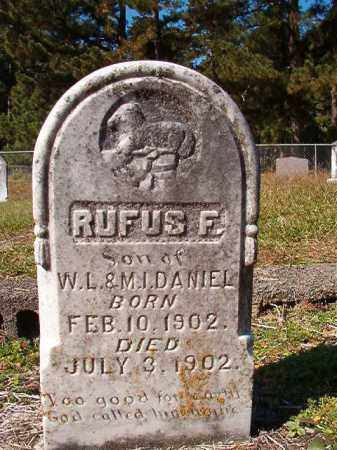 DANIEL, RUFUS F - Dallas County, Arkansas | RUFUS F DANIEL - Arkansas Gravestone Photos