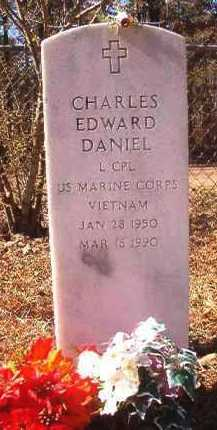 DANIEL (VETERAN VIET), CHARLES EDWARD - Dallas County, Arkansas | CHARLES EDWARD DANIEL (VETERAN VIET) - Arkansas Gravestone Photos