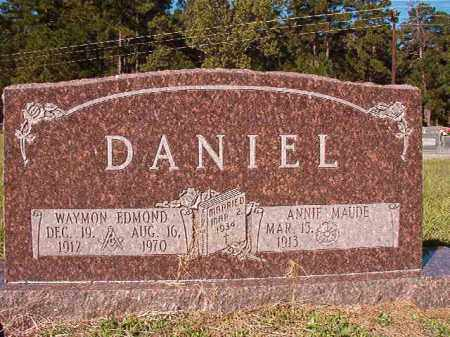 DANIEL, WAYMON EDMOND - Dallas County, Arkansas | WAYMON EDMOND DANIEL - Arkansas Gravestone Photos