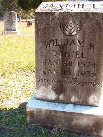DANIEL, WILLIAM K - Dallas County, Arkansas | WILLIAM K DANIEL - Arkansas Gravestone Photos