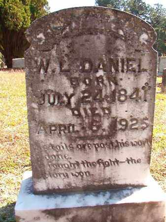 DANIEL, WILLIAM L (BIO) - Dallas County, Arkansas | WILLIAM L (BIO) DANIEL - Arkansas Gravestone Photos