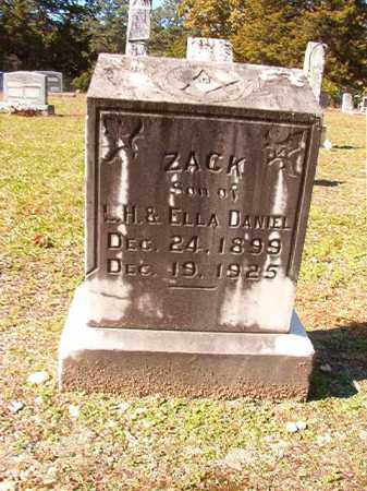DANIEL, ZACK - Dallas County, Arkansas | ZACK DANIEL - Arkansas Gravestone Photos