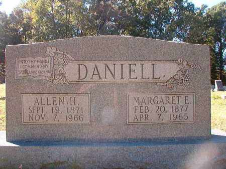 DANIELL, MARGARET E - Dallas County, Arkansas | MARGARET E DANIELL - Arkansas Gravestone Photos