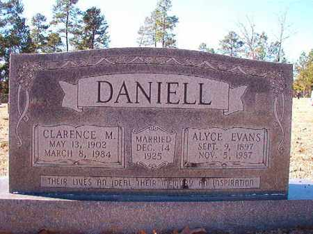 EVANS DANIELL, ALYCE - Dallas County, Arkansas | ALYCE EVANS DANIELL - Arkansas Gravestone Photos