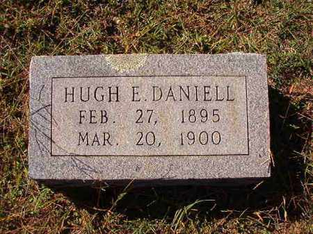 DANIELL, HUGH E - Dallas County, Arkansas | HUGH E DANIELL - Arkansas Gravestone Photos