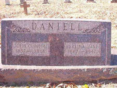 DANIELL, JOHN CLINTON - Dallas County, Arkansas | JOHN CLINTON DANIELL - Arkansas Gravestone Photos