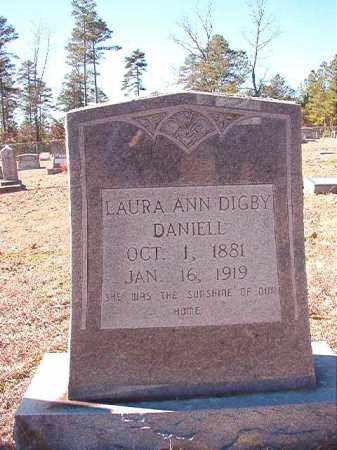 DANIELL, LAURA ANN - Dallas County, Arkansas | LAURA ANN DANIELL - Arkansas Gravestone Photos