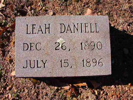 DANIELL, LEAH - Dallas County, Arkansas | LEAH DANIELL - Arkansas Gravestone Photos