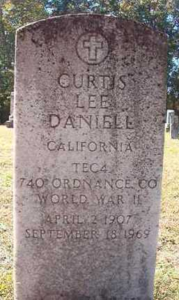 DANIELL (VETERAN WWII), CURTIS LEE - Dallas County, Arkansas   CURTIS LEE DANIELL (VETERAN WWII) - Arkansas Gravestone Photos