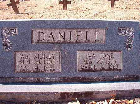 DANIELL, IVA IONE - Dallas County, Arkansas | IVA IONE DANIELL - Arkansas Gravestone Photos