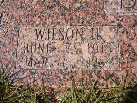 DANIELL, WILSON H - Dallas County, Arkansas | WILSON H DANIELL - Arkansas Gravestone Photos