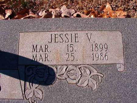 DANIELS, JESSIE V - Dallas County, Arkansas | JESSIE V DANIELS - Arkansas Gravestone Photos